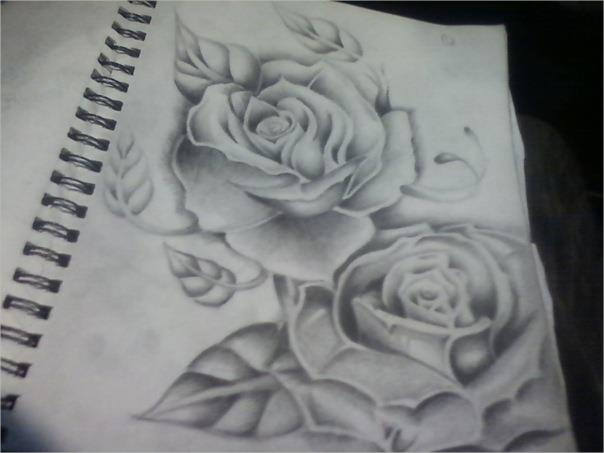 Beautiful Rose Drawing For You