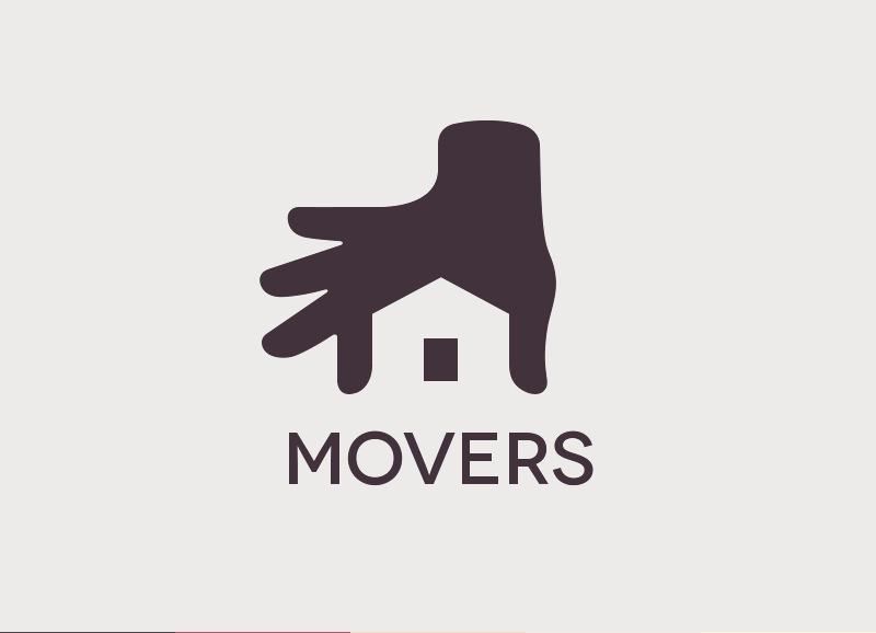 Movers Real Estate Logo Design