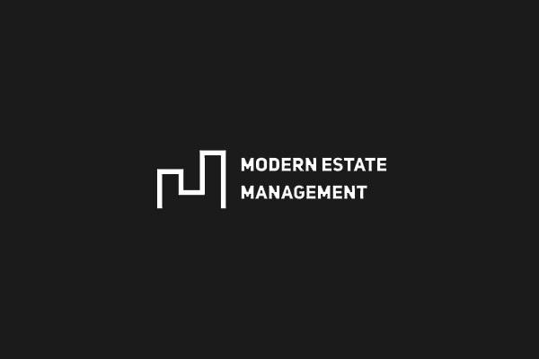 Modern Estate Management Logo Design