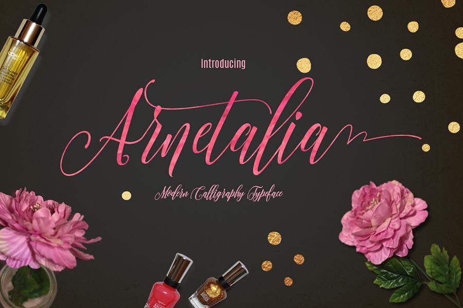 Amazing Arnetalia Font