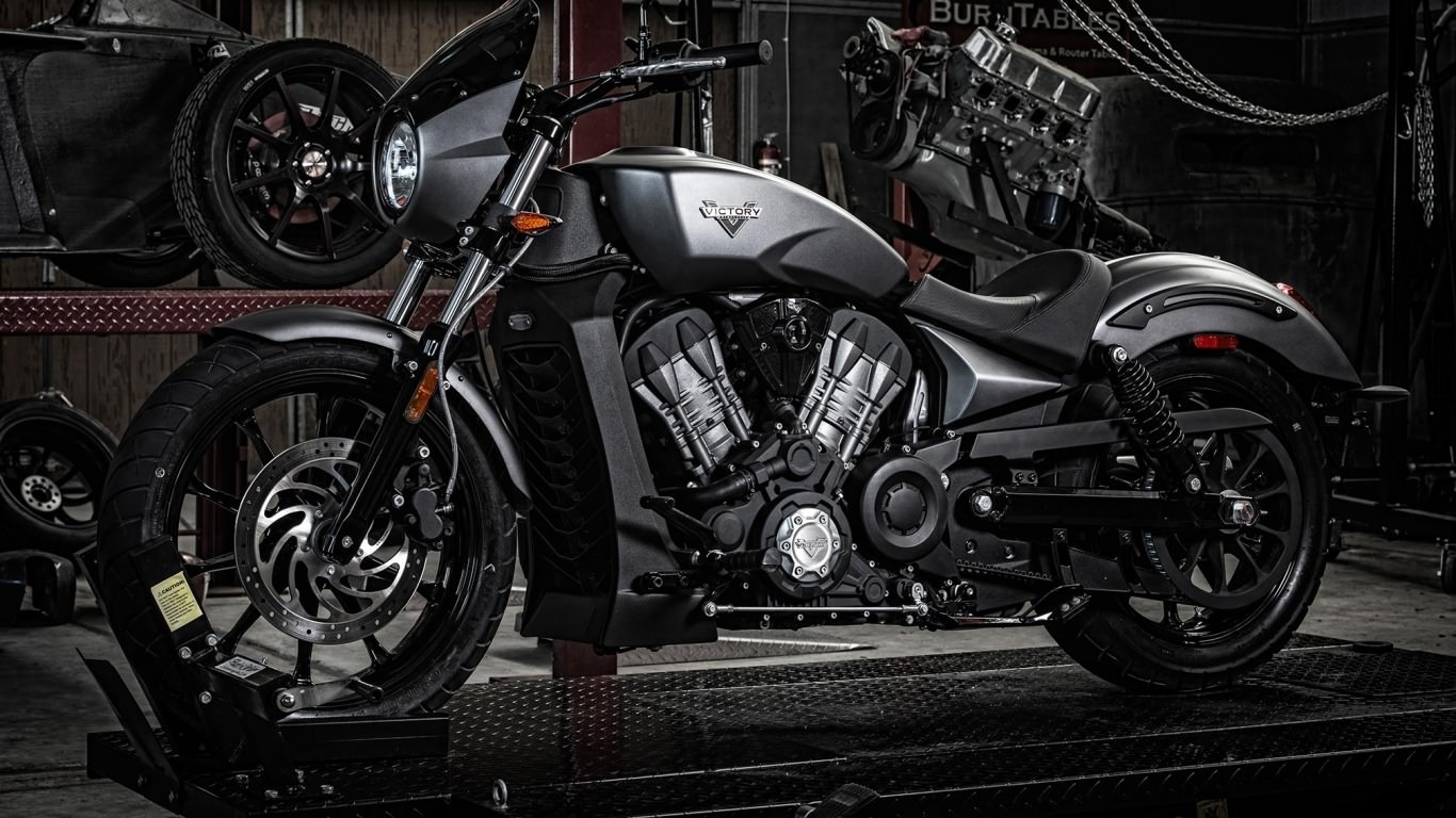 2017 Victory Octane Motorcycle Wallpaper