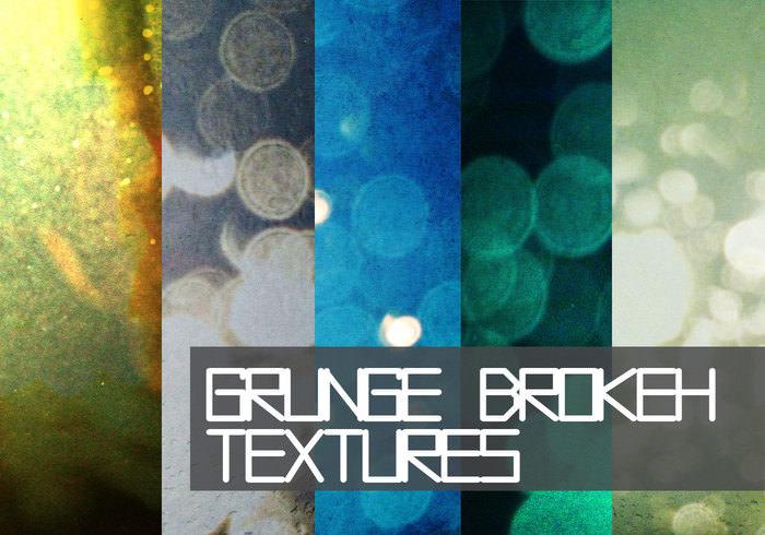 Beautiful Bokeh Grunge Textures