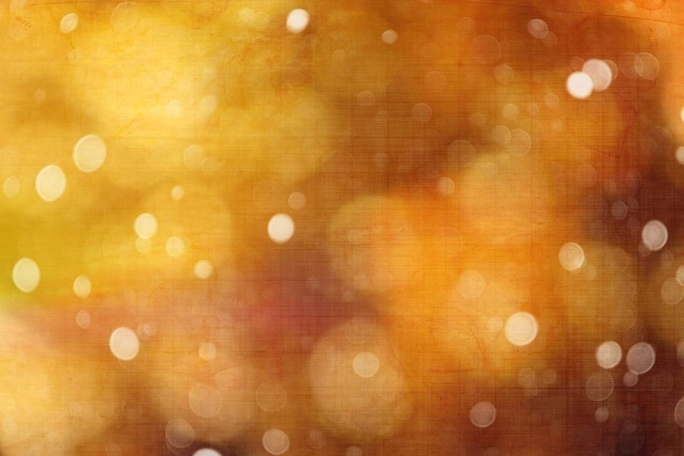 Yellow Grunge Bokeh Textures