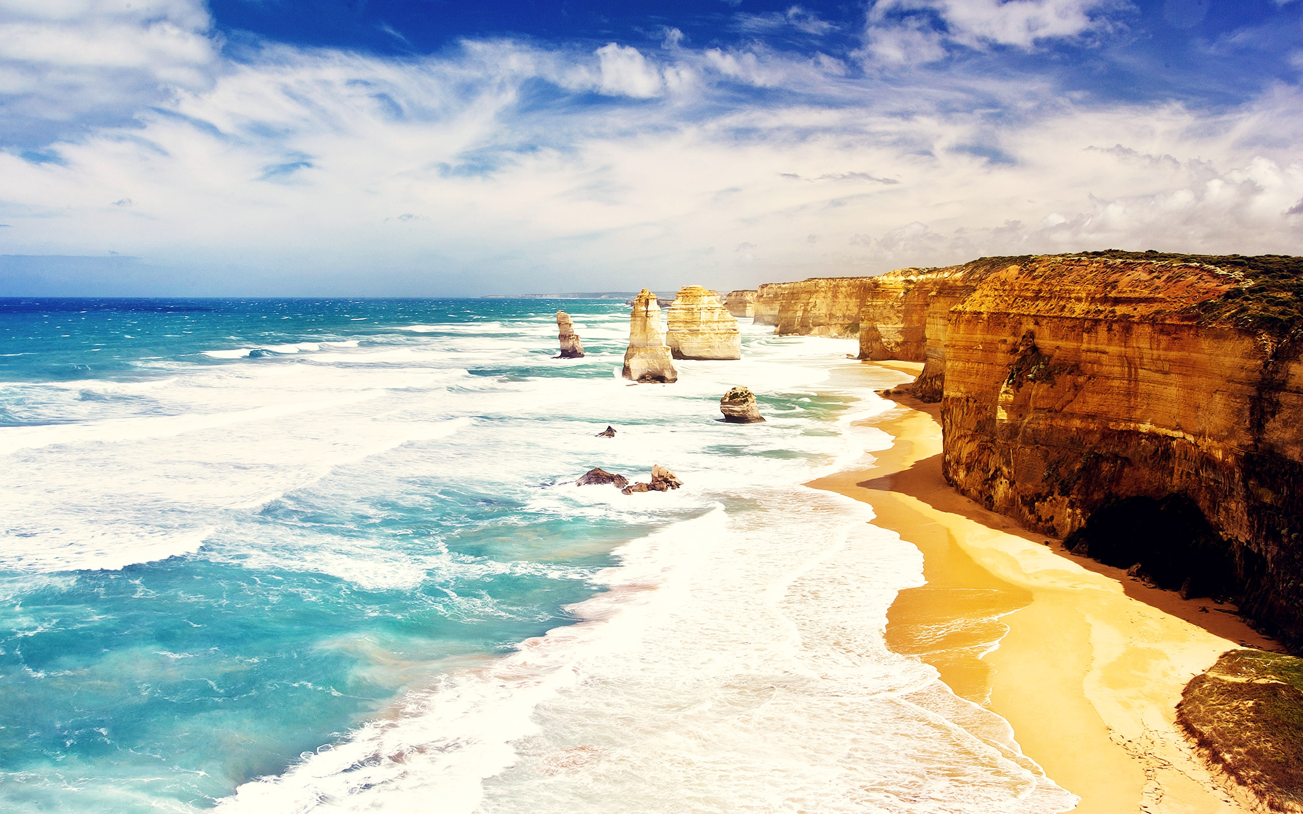 Twelve Apostles Australia Travel Wallpaper
