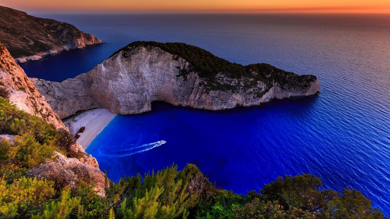 View of Zakynthos Travel Wallpaper