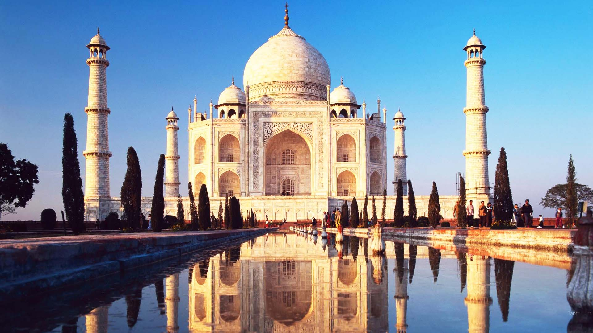 Taj Mahal India Travel Wallpaper
