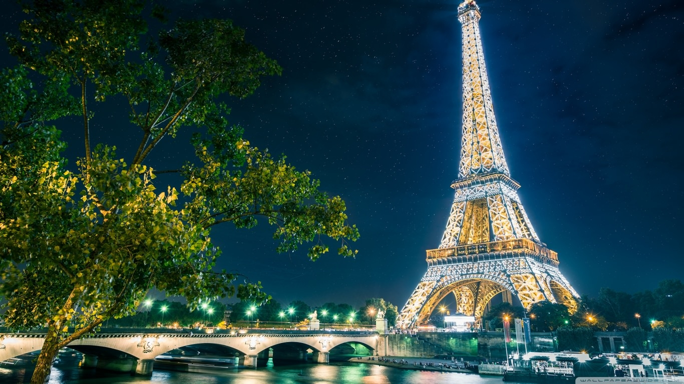 Eiffel Tower Travel Wallpaper
