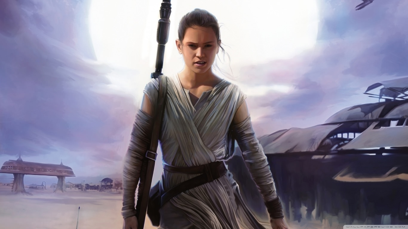 Rey Star Wars the Force Wallpaper