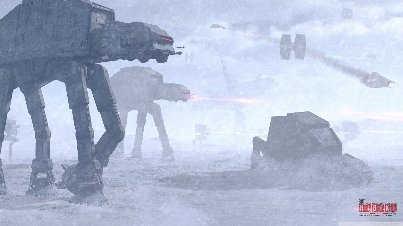 Star Wars Battle of Hoth Wallpaper
