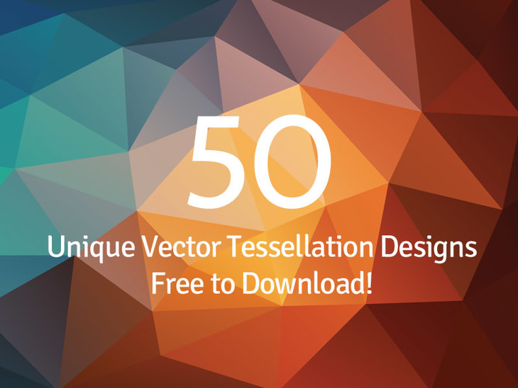50 Vector Polygon backgrounds