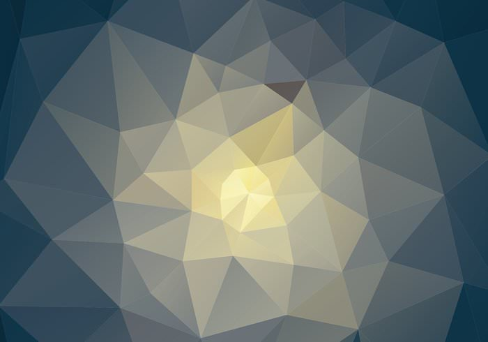 Geo Shape Polygonal Background Vector
