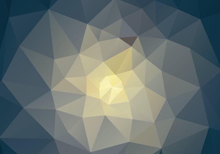 geo shape polygonal background vector
