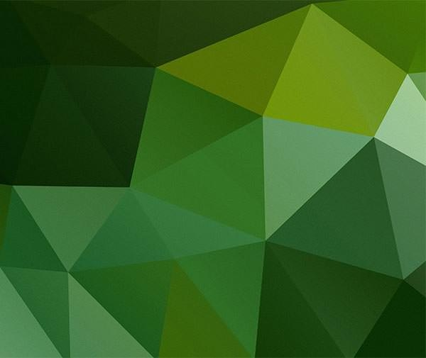 7 Unique Polygon Background Vector