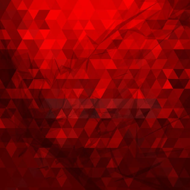 red polygonal background vector 1