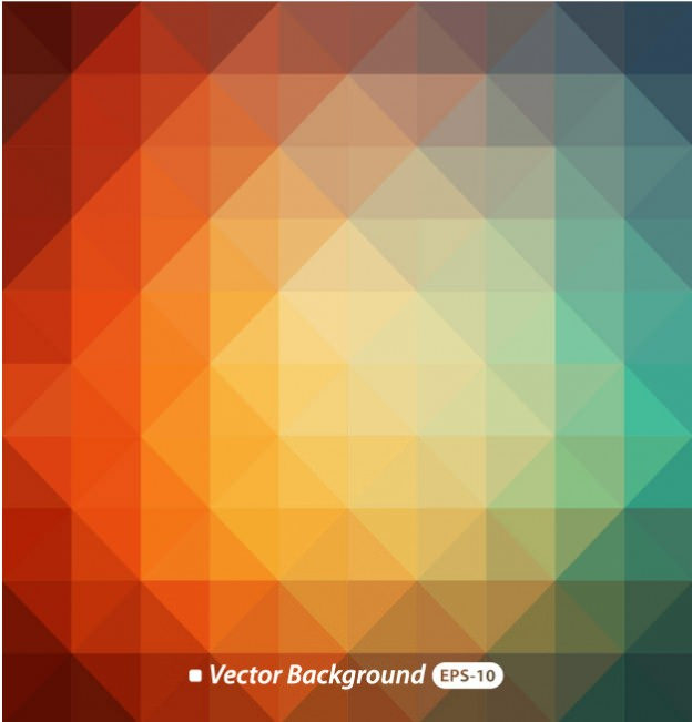 Free Polygonal Background vector