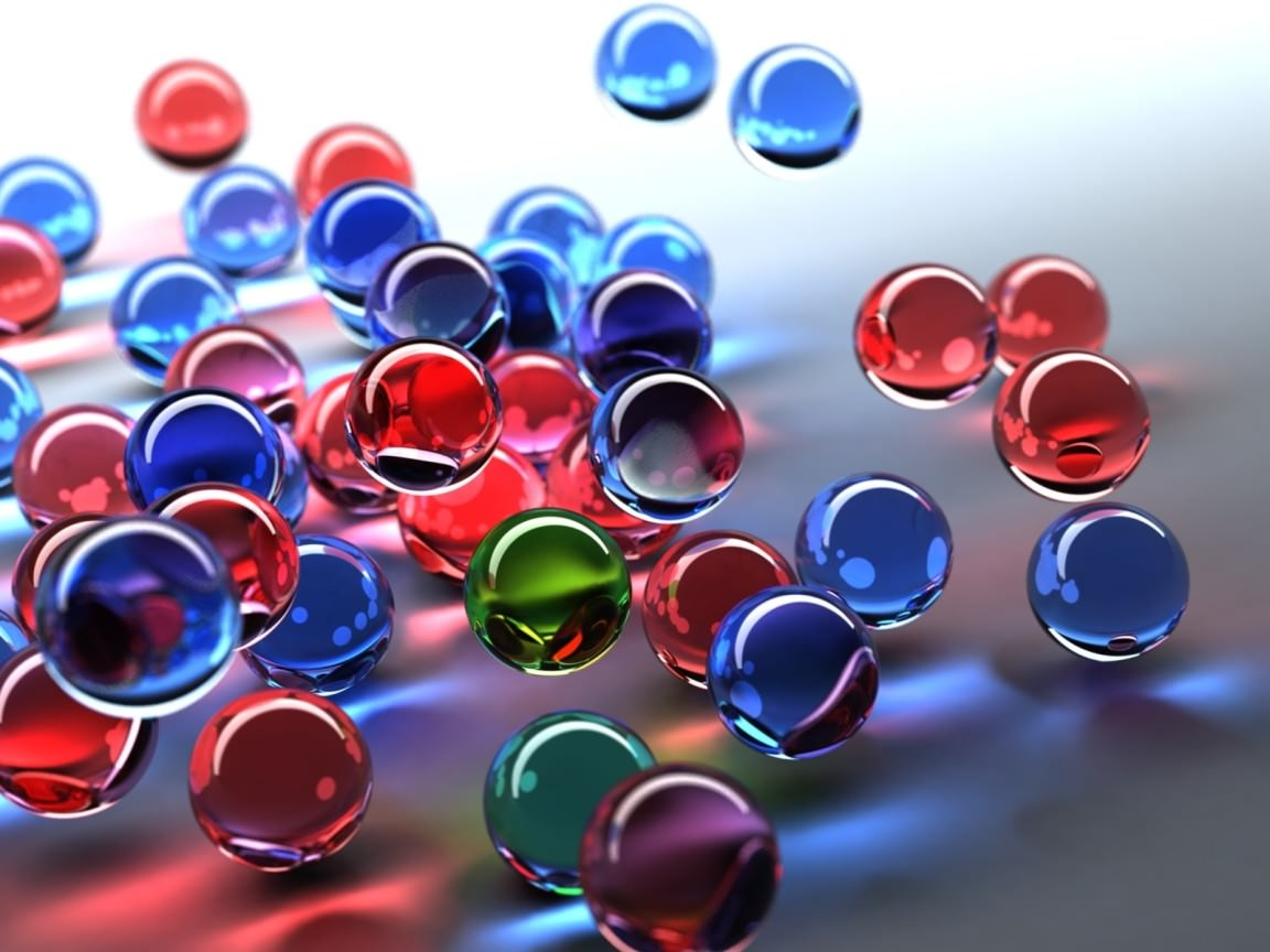 Glossy Bubble Wallpaper