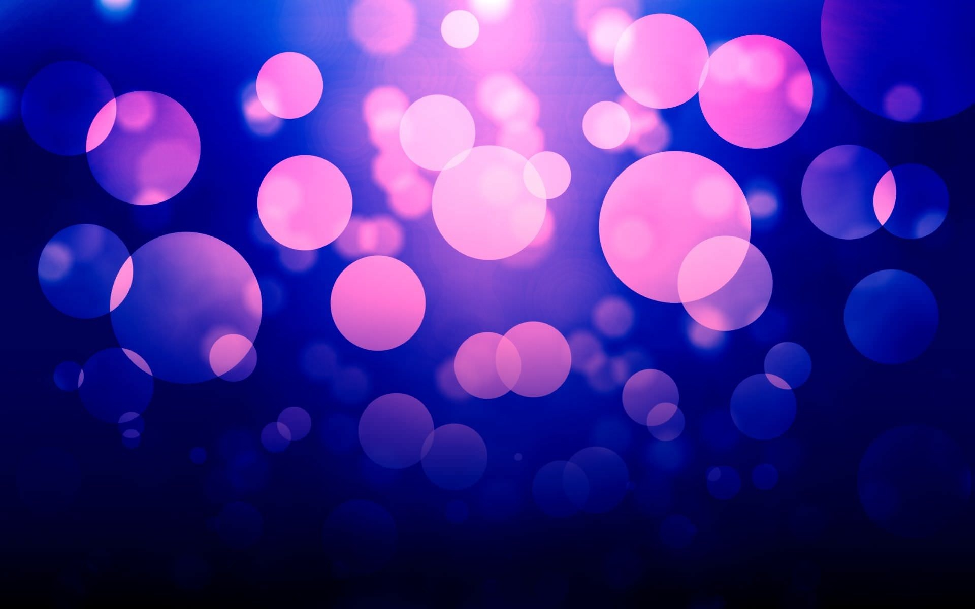 Bokeh Pink Bubbles Wallpaper
