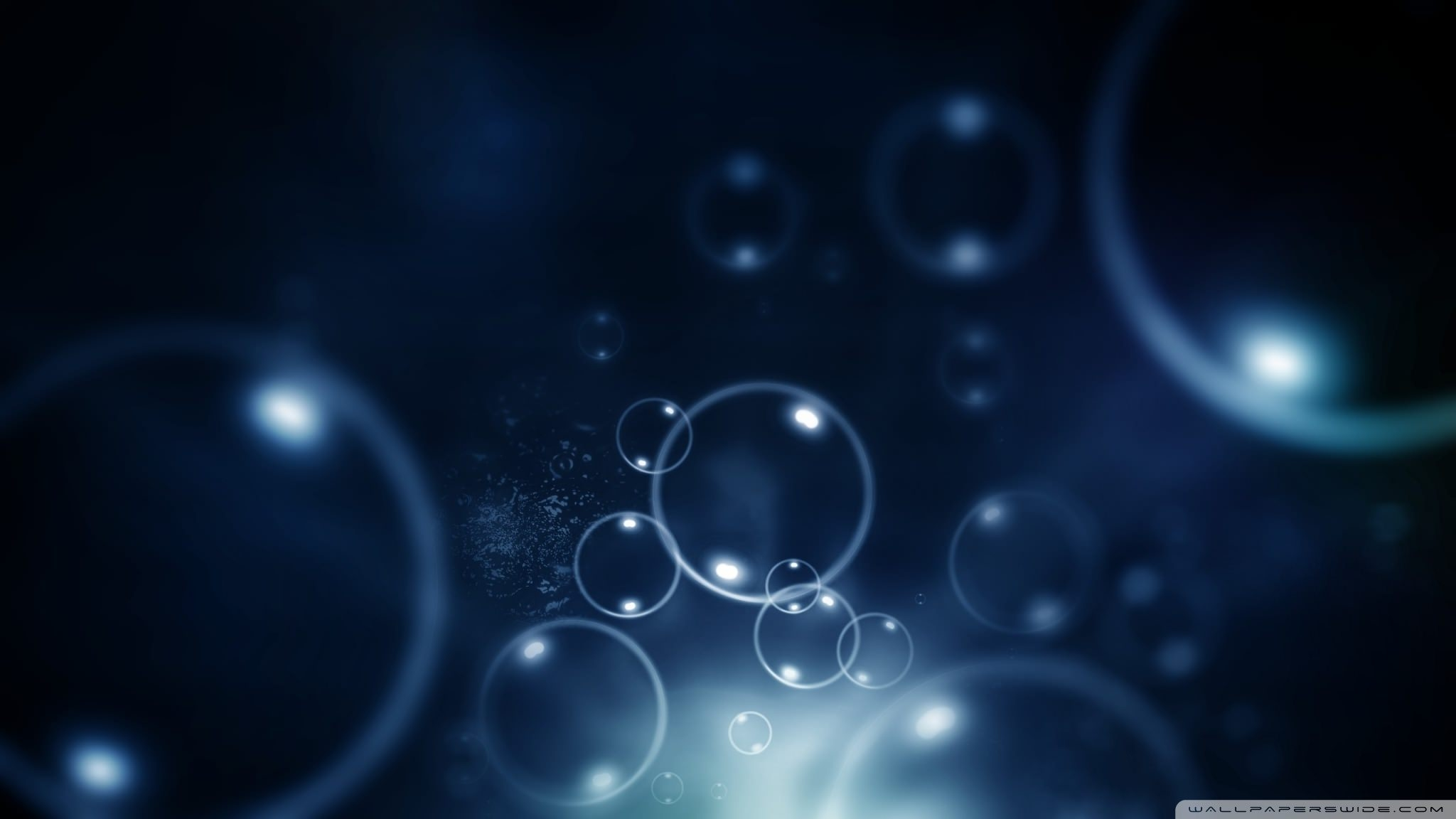 Download Water Bubbles wallpaper