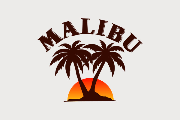 Malibu Palm Tree Logo