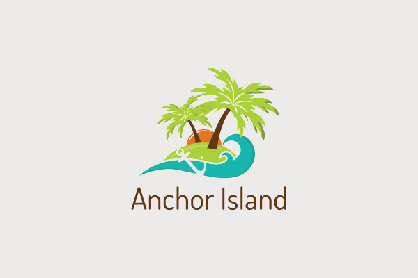 10+ Palm Tree Logos | Logo Designs | FreeCreatives