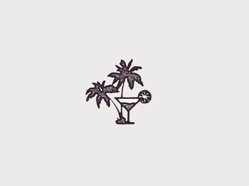 Palm Trees & Margaritas Logo