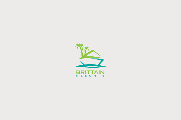 Brittain Resorts Palm Tree Logo