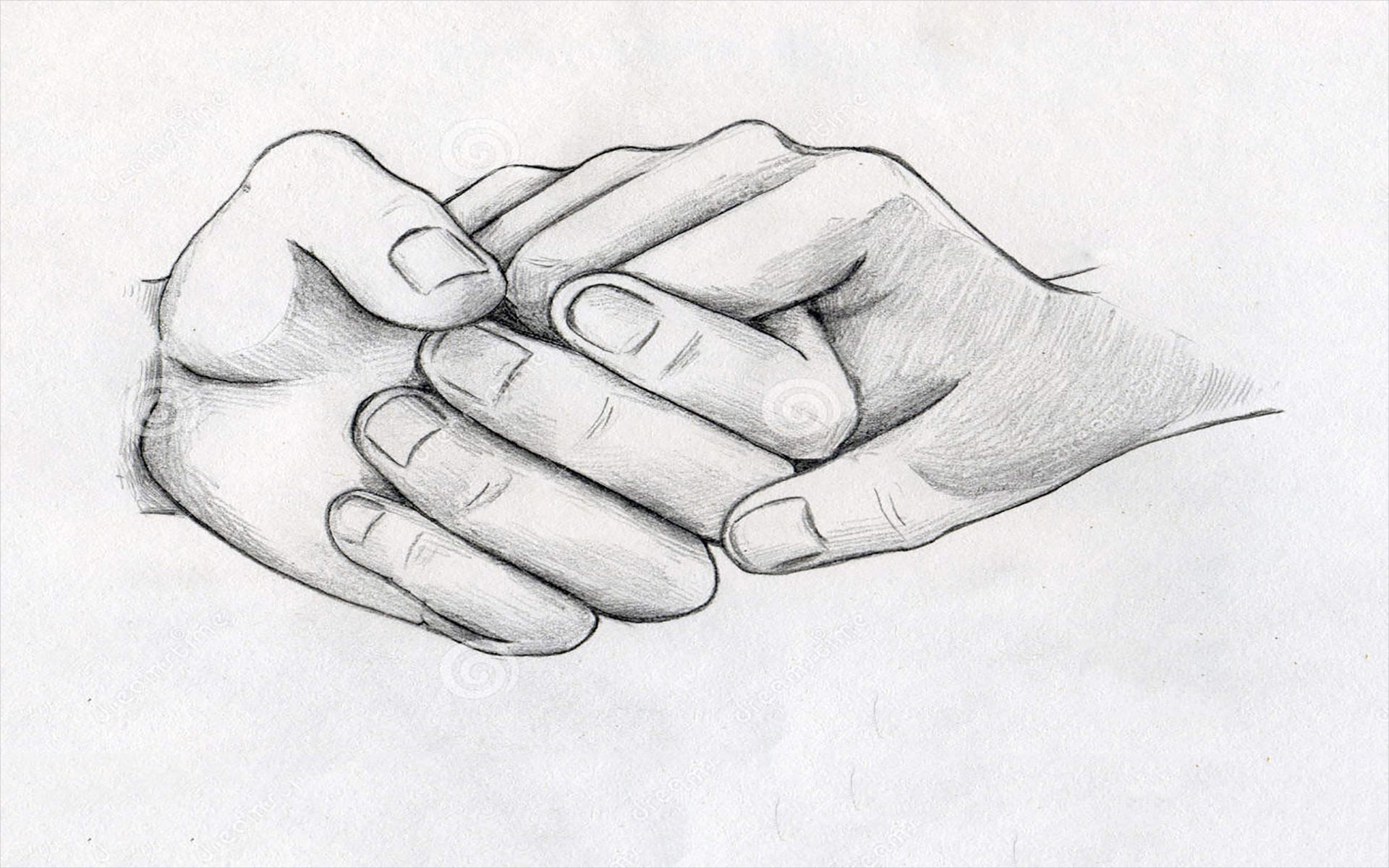 Hold me forever love drawing