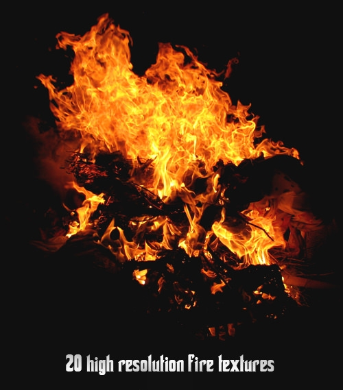 download 20 high res fire textures