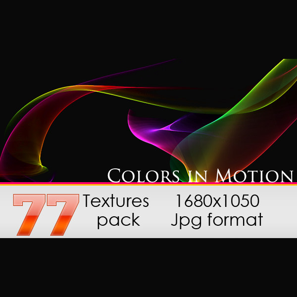 77 Colorful Motion Textures Pack
