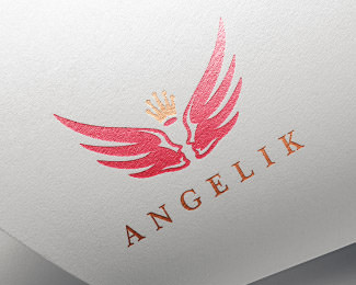 Angelik Logo Design