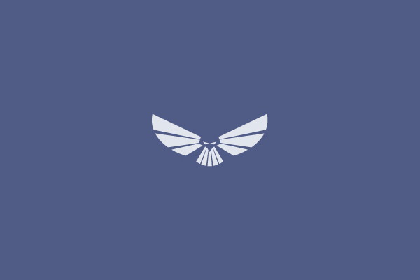 Flat Wings Logo Design