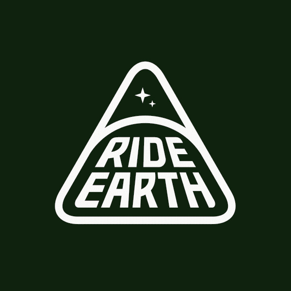 Ride Earth Triangle Logo