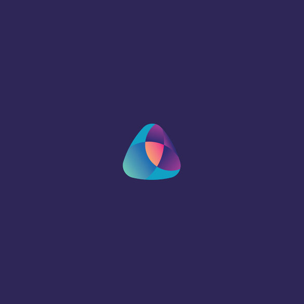 Colors Triangle Logo