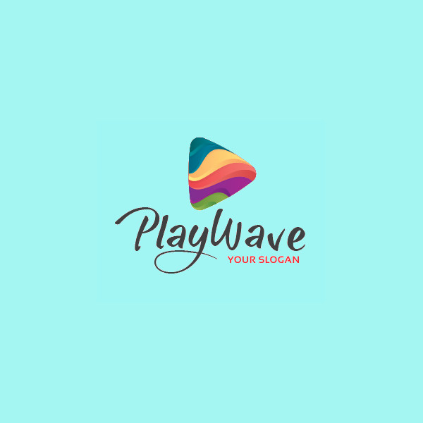 Playwave Triangle Logo