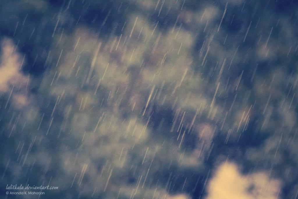 Rain and Bokeh Texture