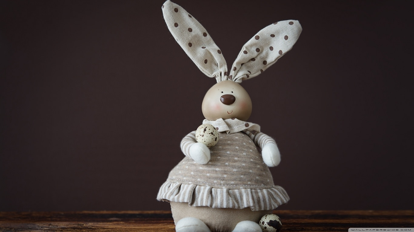 Easter Bunny Decoration Wallpaper