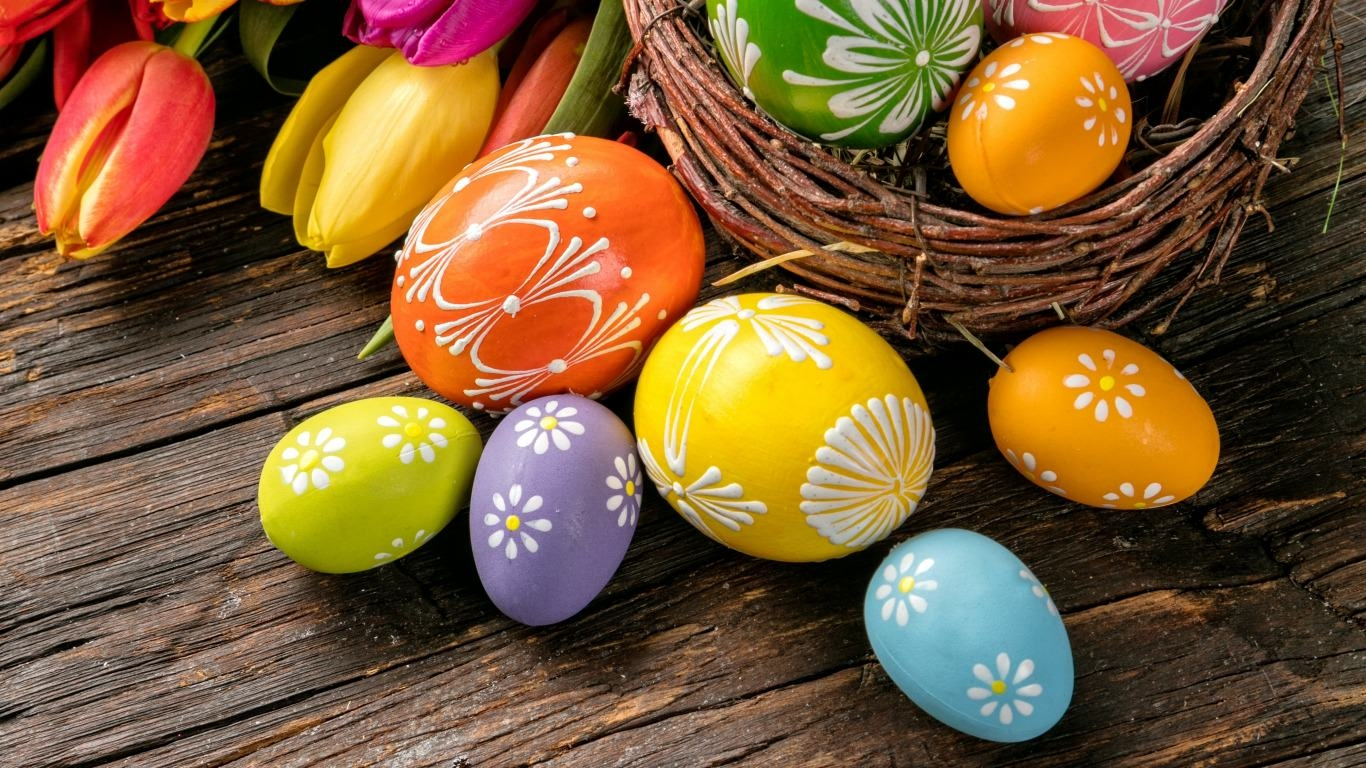 Colorful Easter Wallpaper