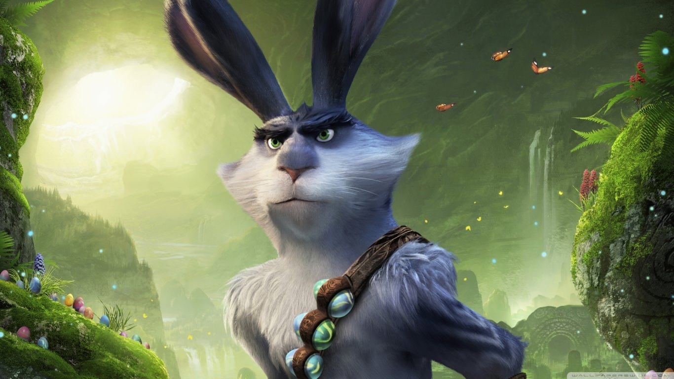 Easter Bunny Rise of the Guardians Wallpaper