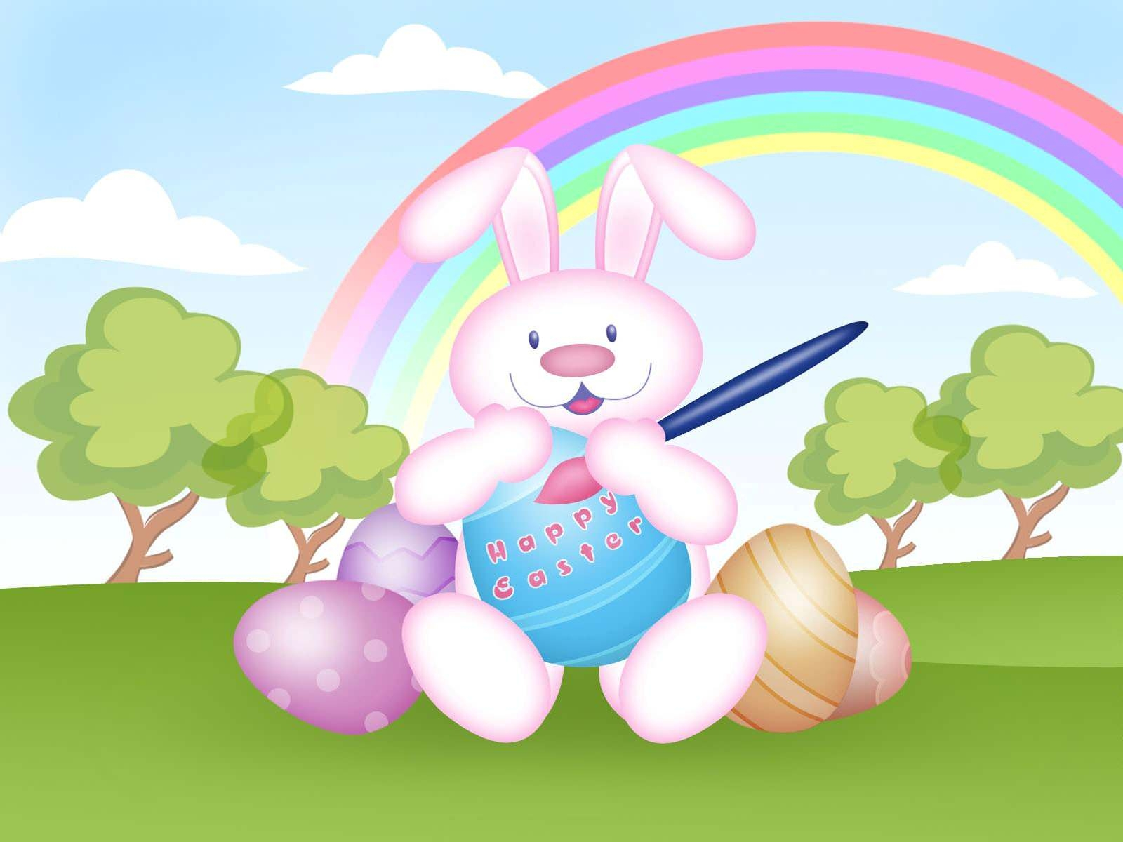 Easter Cartoon Wallpaper