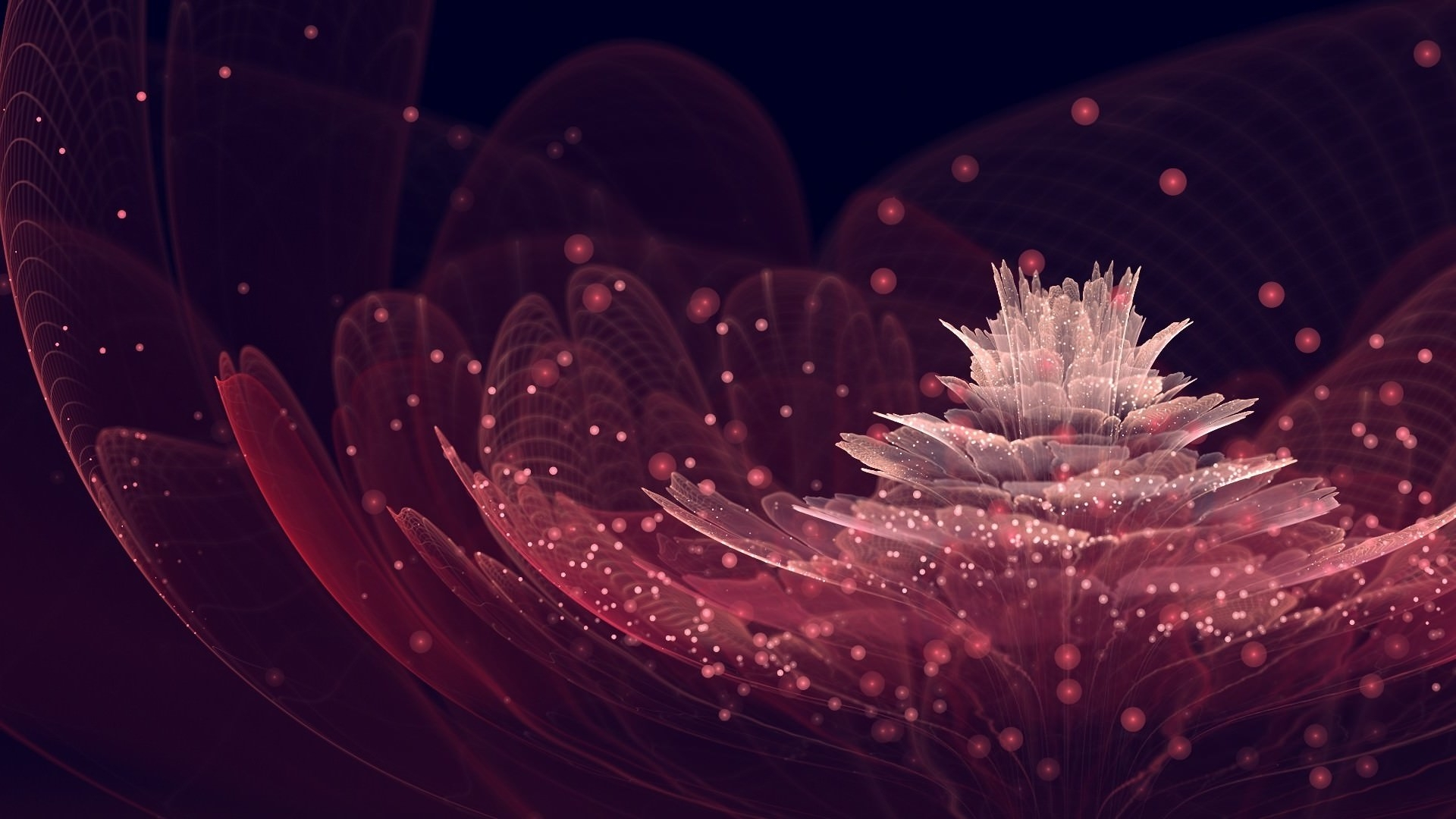 Stunning HD Fractal Desktop Wallpaper