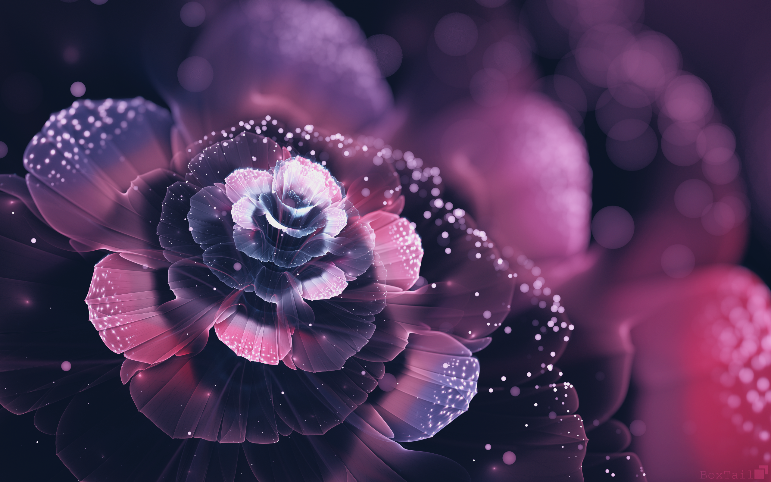 top fractal wallpapers floral - photo #34