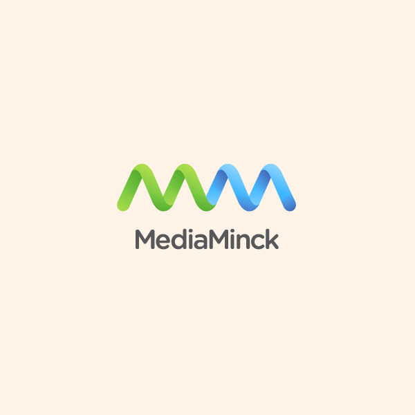Media Minck Wave Logo
