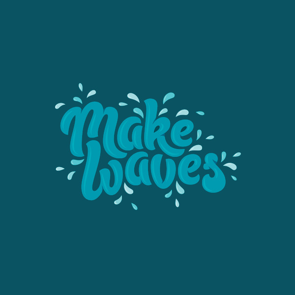 Make Waves logo