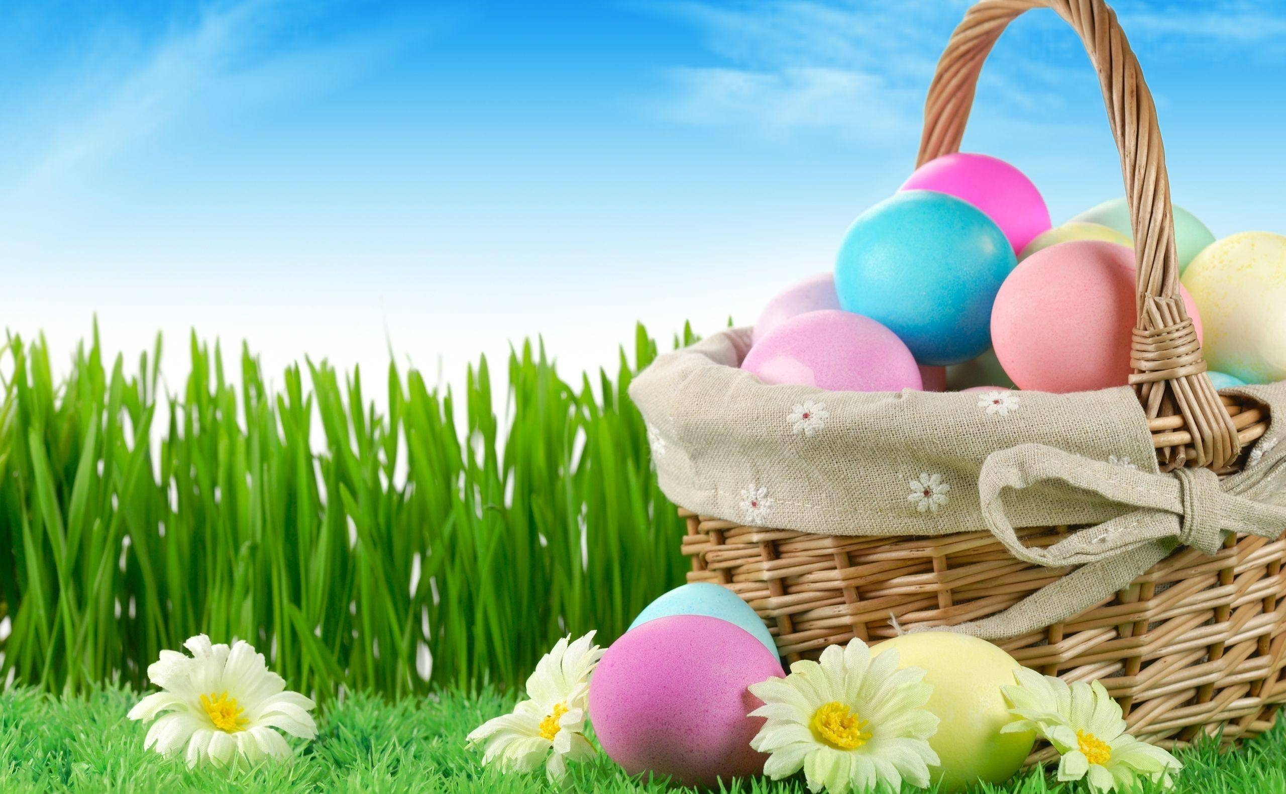 Impressive Happy Easter Eggs Wallpaper