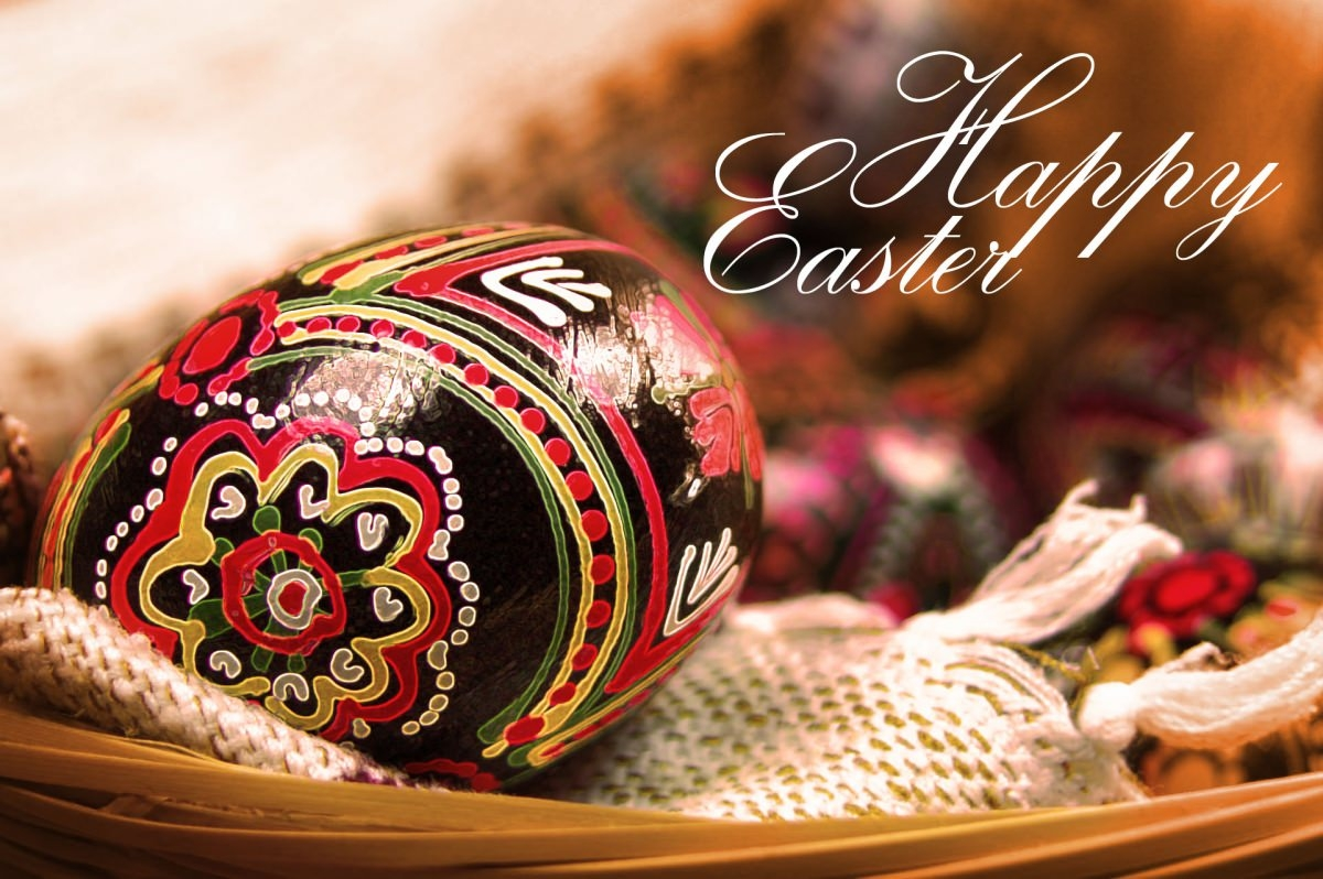 Happy Easter Egg Wallpaper