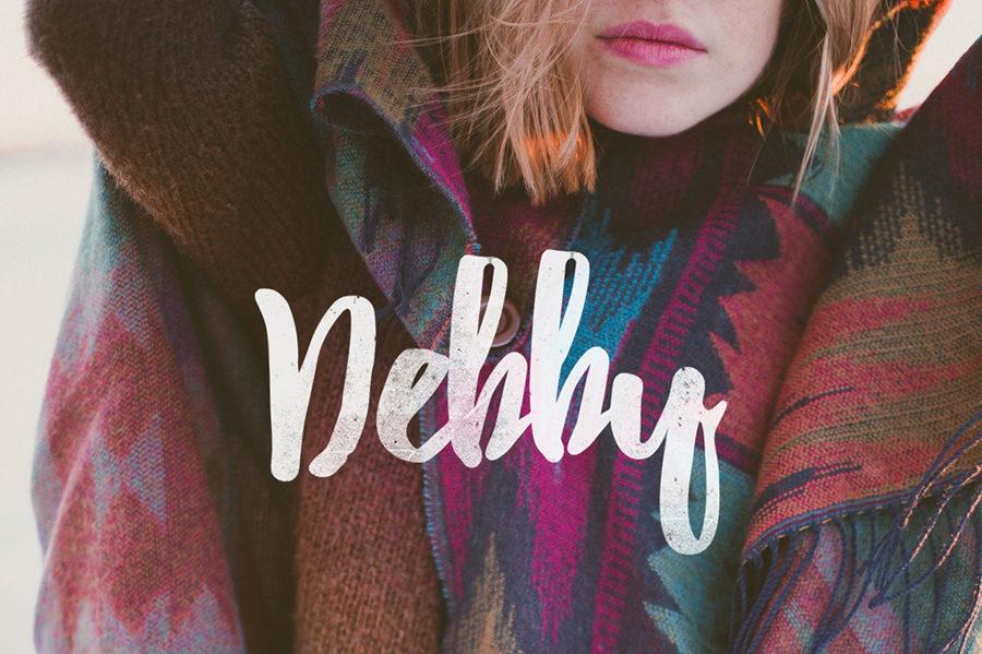 Amazing Debby font
