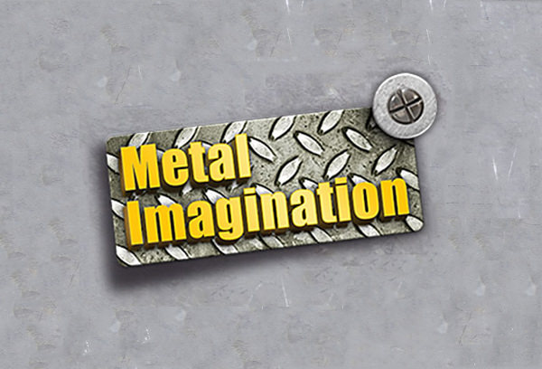 3D Metal Imagination Logo