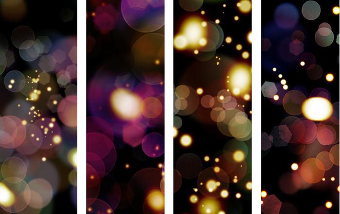 4 Light Bokeh Textures