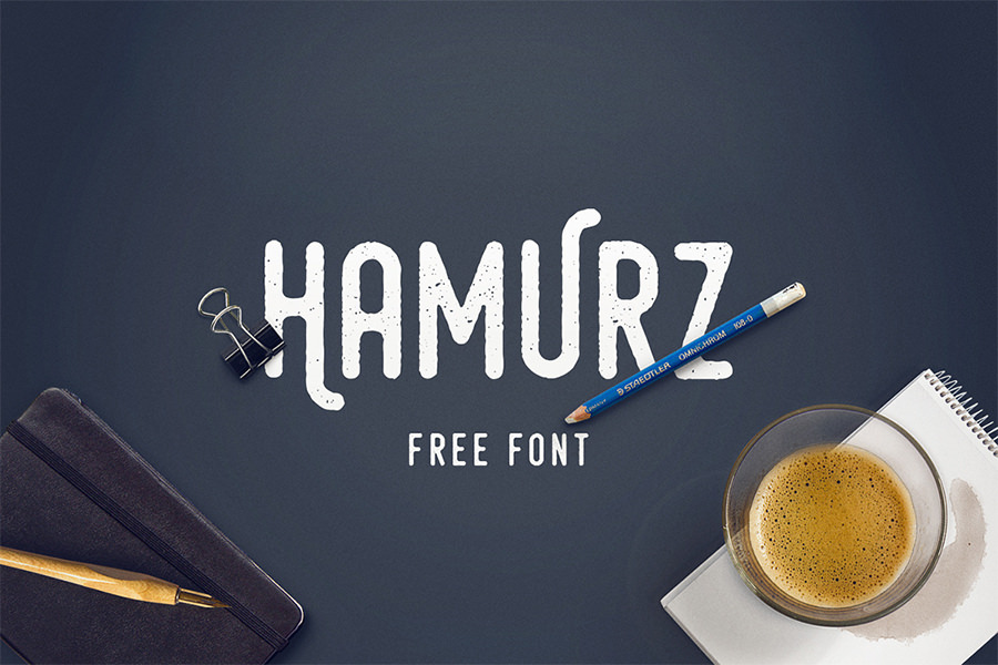 Awesome Hamurz Font
