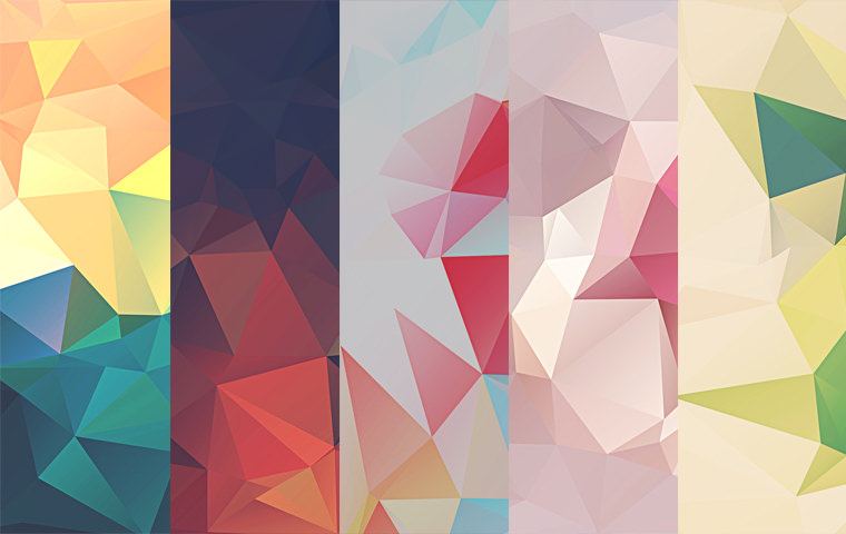 5 Amazing Low Poly Background Download